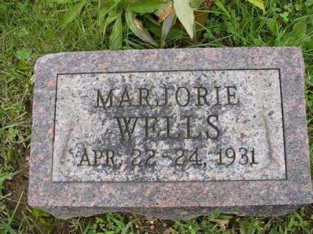 WELLS, MARJORIE - Meigs County, Ohio | MARJORIE WELLS - Ohio Gravestone Photos