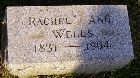 BUTLER WELLS, RACHEL ANN - Meigs County, Ohio | RACHEL ANN BUTLER WELLS - Ohio Gravestone Photos