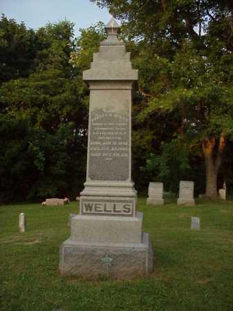 WELLS, ROBERT G. - MONUMENT - Meigs County, Ohio | ROBERT G. - MONUMENT WELLS - Ohio Gravestone Photos