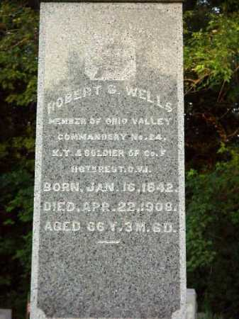 WELLS, ROBERT G. - CLOSEVIEW - Meigs County, Ohio | ROBERT G. - CLOSEVIEW WELLS - Ohio Gravestone Photos