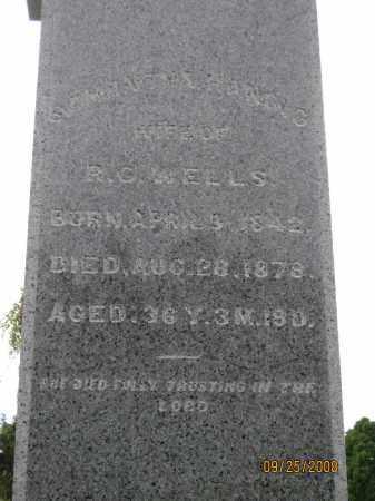 HANING WELLS, SAMANTHA - Meigs County, Ohio | SAMANTHA HANING WELLS - Ohio Gravestone Photos