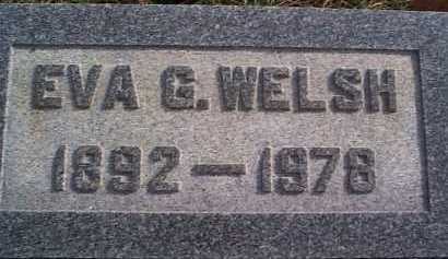 MCCORMICK WELSH, EVA - Meigs County, Ohio | EVA MCCORMICK WELSH - Ohio Gravestone Photos