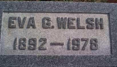 MCCORMICK WELSH, EVA - Meigs County, Ohio | EVA MCCORMICK WELSH - Ohio Gravestone Photos