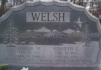 WELSH, ALDENA - Meigs County, Ohio | ALDENA WELSH - Ohio Gravestone Photos