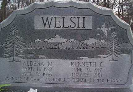 WELSH, KENNETH C. - Meigs County, Ohio | KENNETH C. WELSH - Ohio Gravestone Photos