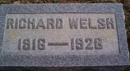 WELSH, RICHARD - Meigs County, Ohio | RICHARD WELSH - Ohio Gravestone Photos