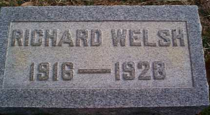 WELSH, RICHARD - Meigs County, Ohio | RICHARD WELSH - Ohio Gravestone Photos