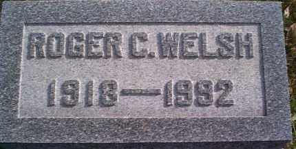 WELSH, ROGER C. - Meigs County, Ohio | ROGER C. WELSH - Ohio Gravestone Photos