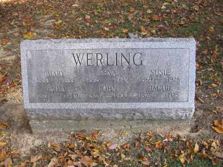 WERLING, MARY - Meigs County, Ohio | MARY WERLING - Ohio Gravestone Photos
