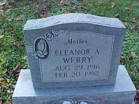 WERRY, ELEANORA A. - Meigs County, Ohio   ELEANORA A. WERRY - Ohio Gravestone Photos