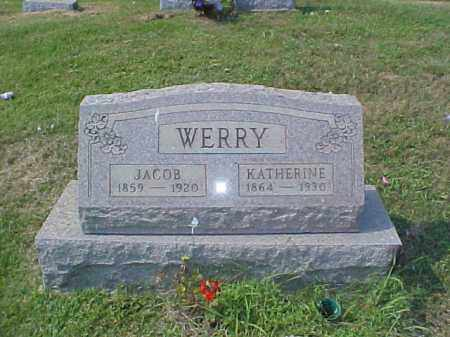 WERRY, KATHERINE - Meigs County, Ohio | KATHERINE WERRY - Ohio Gravestone Photos