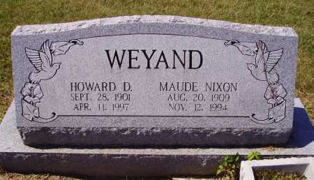 WEYAND, MAUDE EVELYN - Meigs County, Ohio   MAUDE EVELYN WEYAND - Ohio Gravestone Photos