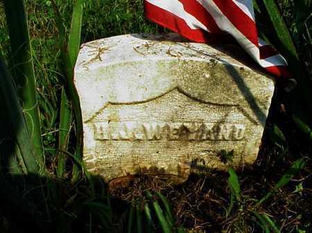 WEYAND, H.J. - Meigs County, Ohio | H.J. WEYAND - Ohio Gravestone Photos