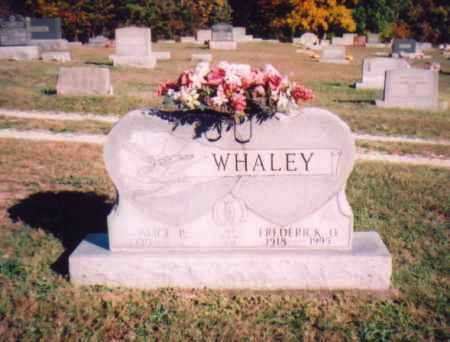 WHALEY, ALICE P. - Meigs County, Ohio | ALICE P. WHALEY - Ohio Gravestone Photos