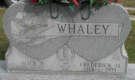 GILKEY WHALEY, ALICE - Meigs County, Ohio | ALICE GILKEY WHALEY - Ohio Gravestone Photos