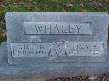 WHALEY, TRACY H. - Meigs County, Ohio | TRACY H. WHALEY - Ohio Gravestone Photos