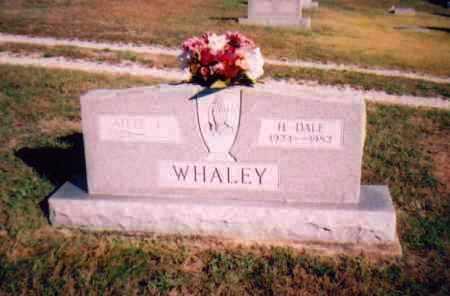 WHALEY, H. DALE - Meigs County, Ohio | H. DALE WHALEY - Ohio Gravestone Photos