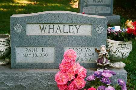 WHALEY, PAUL L. - Meigs County, Ohio   PAUL L. WHALEY - Ohio Gravestone Photos