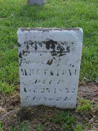 WHETSTONE, EMILY - Meigs County, Ohio | EMILY WHETSTONE - Ohio Gravestone Photos
