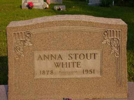 WHITE, ANNA - Meigs County, Ohio | ANNA WHITE - Ohio Gravestone Photos