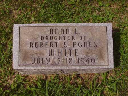 WHITE, ANNA L. - Meigs County, Ohio | ANNA L. WHITE - Ohio Gravestone Photos