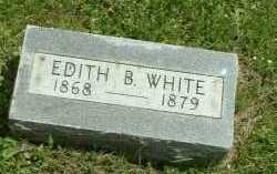 WHITE, EDITH B. - Meigs County, Ohio | EDITH B. WHITE - Ohio Gravestone Photos
