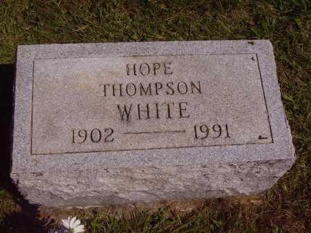 WHITE, HOPE - Meigs County, Ohio | HOPE WHITE - Ohio Gravestone Photos