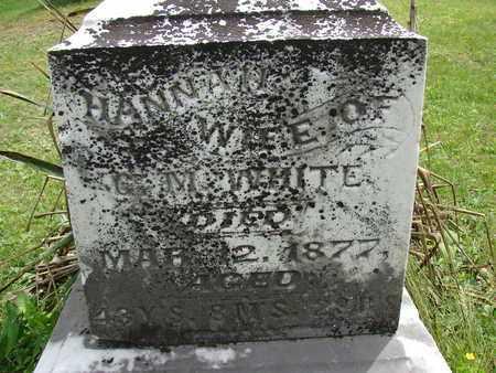 MCCLURE WHITE, HANNAH - Meigs County, Ohio | HANNAH MCCLURE WHITE - Ohio Gravestone Photos