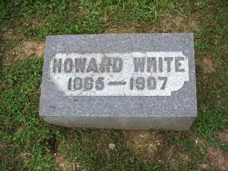 WHITE, HOWARD - Meigs County, Ohio | HOWARD WHITE - Ohio Gravestone Photos