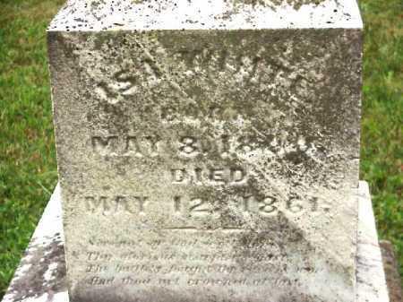 WHITE, ISA - Meigs County, Ohio   ISA WHITE - Ohio Gravestone Photos