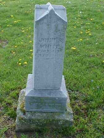 WHITE, JOHN S. - Meigs County, Ohio | JOHN S. WHITE - Ohio Gravestone Photos