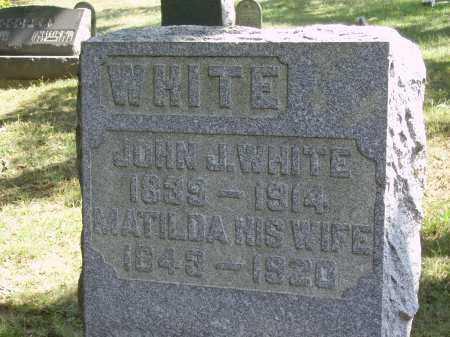 WHITE, MATILDA - Meigs County, Ohio | MATILDA WHITE - Ohio Gravestone Photos