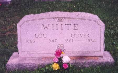 WHITE, OLIVER - Meigs County, Ohio | OLIVER WHITE - Ohio Gravestone Photos