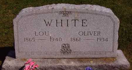 WHITE, LOUISA ELLEN - Meigs County, Ohio | LOUISA ELLEN WHITE - Ohio Gravestone Photos