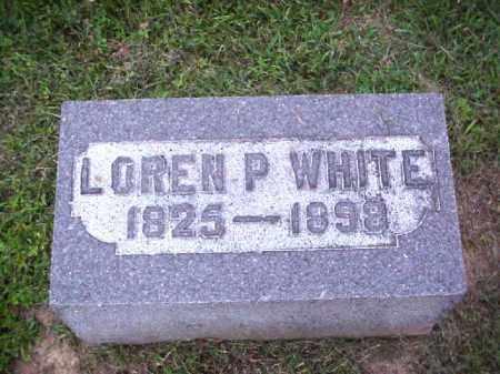 WHITE, LOREN P. - Meigs County, Ohio | LOREN P. WHITE - Ohio Gravestone Photos