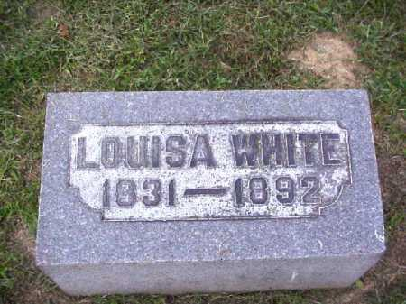 WHITE, LOUISA - Meigs County, Ohio | LOUISA WHITE - Ohio Gravestone Photos