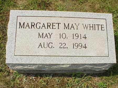 WHITE, MARGARET MAY - Meigs County, Ohio | MARGARET MAY WHITE - Ohio Gravestone Photos