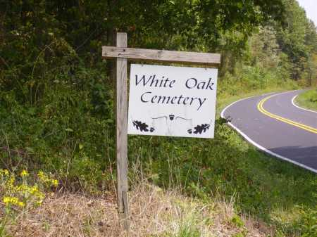 WHITE OAK, CEMETERY SIGN - CLOSEVIEW - Meigs County, Ohio | CEMETERY SIGN - CLOSEVIEW WHITE OAK - Ohio Gravestone Photos