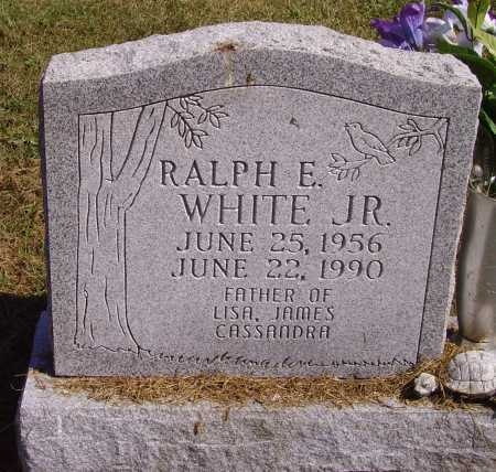 WHITE, RALPH E., JR. - Meigs County, Ohio | RALPH E., JR. WHITE - Ohio Gravestone Photos