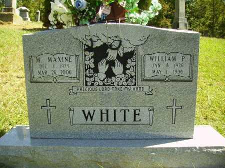 MONTGOMERY WHITE, MARY MAXINE - Meigs County, Ohio | MARY MAXINE MONTGOMERY WHITE - Ohio Gravestone Photos