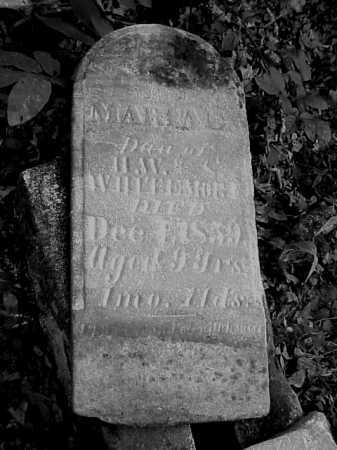 WHITEMORE, MARIA ? - Meigs County, Ohio | MARIA ? WHITEMORE - Ohio Gravestone Photos