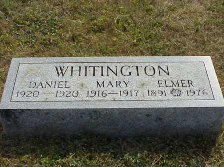 WHITINGTON, MARY - Meigs County, Ohio | MARY WHITINGTON - Ohio Gravestone Photos