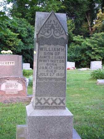 WHITINGTON, WILLIAM H. - Meigs County, Ohio   WILLIAM H. WHITINGTON - Ohio Gravestone Photos