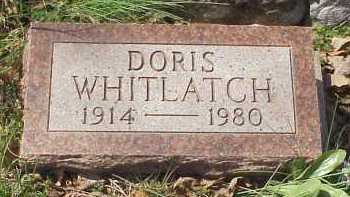 WHITLATCH, DORIS - Meigs County, Ohio | DORIS WHITLATCH - Ohio Gravestone Photos