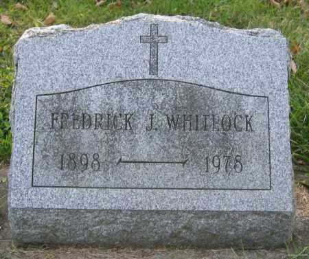 WHITLOCK, FREDRICK JAMES - Meigs County, Ohio | FREDRICK JAMES WHITLOCK - Ohio Gravestone Photos