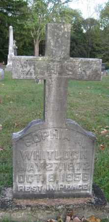 WHITLOCK, SOPHIA A - Meigs County, Ohio | SOPHIA A WHITLOCK - Ohio Gravestone Photos
