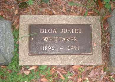 WHITTAKER, OLGA - Meigs County, Ohio | OLGA WHITTAKER - Ohio Gravestone Photos