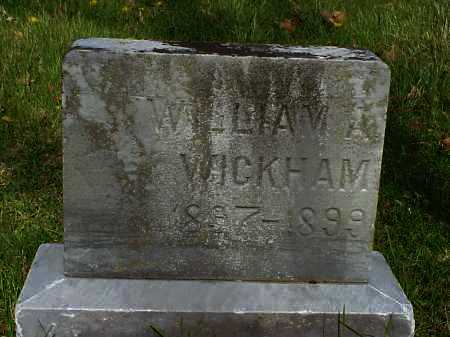 WICKHAM, WILLIAM A. - Meigs County, Ohio | WILLIAM A. WICKHAM - Ohio Gravestone Photos