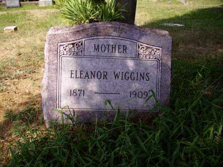 WILLIAMS WIGGINS, ELEANOR - Meigs County, Ohio | ELEANOR WILLIAMS WIGGINS - Ohio Gravestone Photos