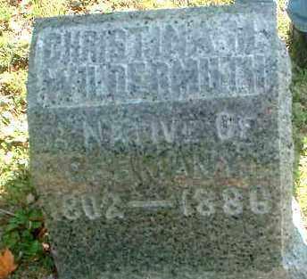 WILDERMUTH, CHRISTINA M. - Meigs County, Ohio   CHRISTINA M. WILDERMUTH - Ohio Gravestone Photos